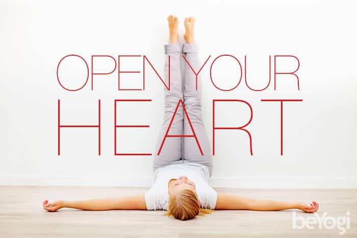 open heart yoga pose
