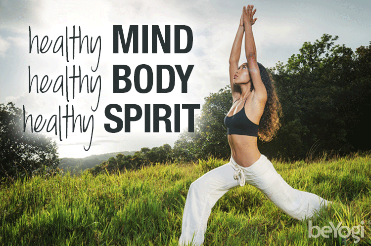 healthy mind, body and spirit