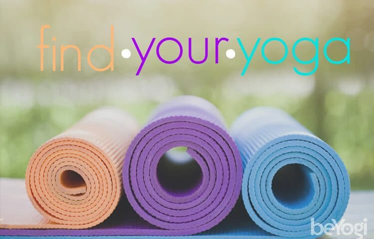 find your yoga style