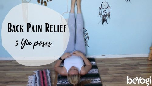 Five Yin Yoga Poses to Relieve Back Pain