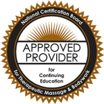 NCBTMB Approved Provider of Massage Therapy CEUs